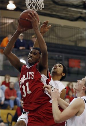 Bowling Green's Chauncey Orr has been named Division-I boys player of the year.