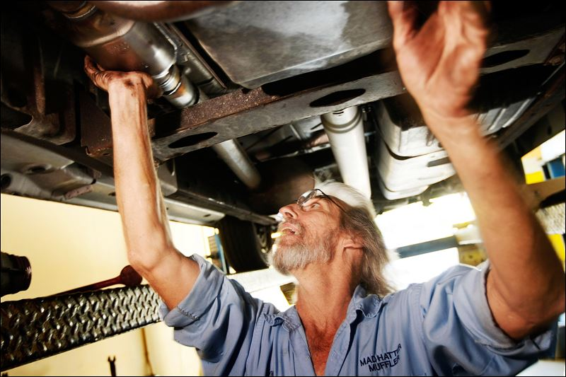 How To Replace Catalytic Converter >> Toledoan's device targets catalytic converter thieves ...