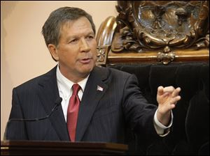 Gov. John Kasich has spent more than a year vowing to balance Ohio's budget.