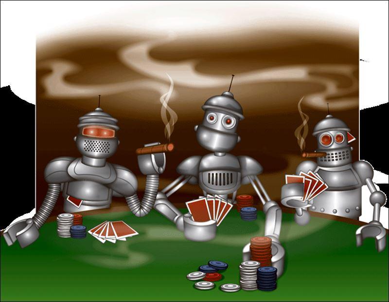 online poker robot
