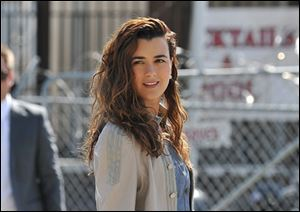 Cote de Pablo plays Ziva David on the CBS show 'NCIS.'