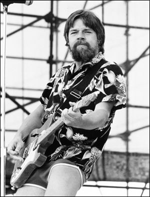 Bob Seger performs at the Speedway Jam in Toledo Ohio, July 16, 1983.