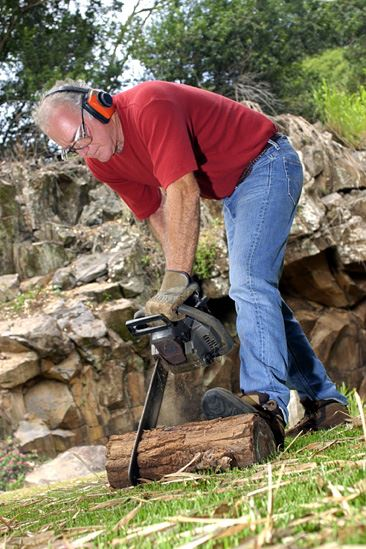 Cleaning Up After A Storm Follow These Chain Saw Safety