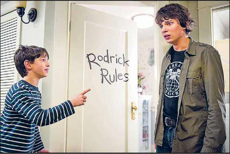 Zachary Gordon Diary Of A Wimpy Kid Rodrick Rules 'Wimpy Kid'** sequ...