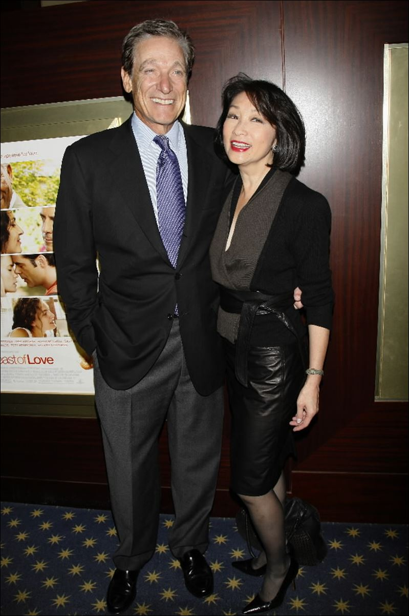 Image: Connie Chung and Mauri Provich