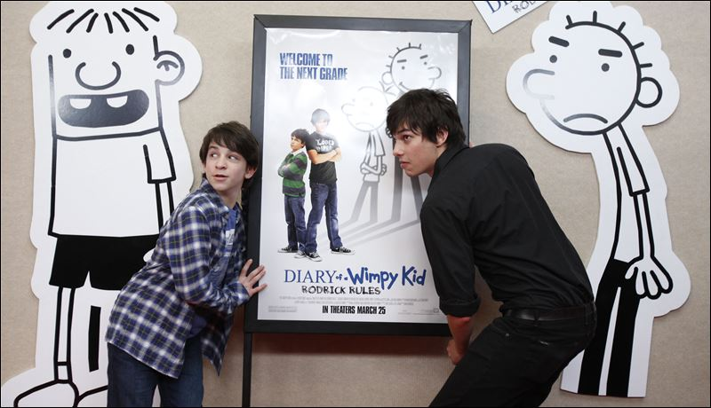 Zachary Gordon Diary Of A Wimpy Kid Rodrick Rules 'Wimpy Kid' rules ...