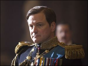 Academy Award winner Colin Firth plays King George VI.