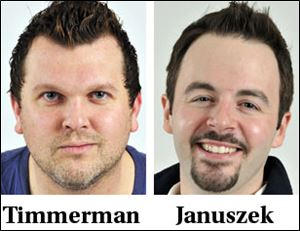 Tim Timmerman and Jeff Januszek will host the Star 105.5 Morning Show starting Monday.