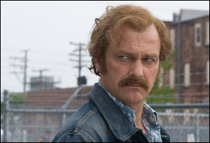 Ray Stevenson portrays true life Cleveland gangster Danny Greene.
