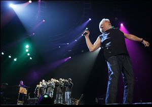 Bob Seger and the Silver Bullet Band play at the Huntington Center for the second time in a week.