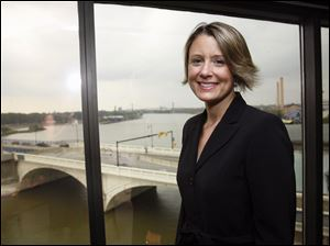 Kristina Keneally, the former Kristina Kerscher, was known as a scrappy sports competitor while a student at Notre Dame Academy.