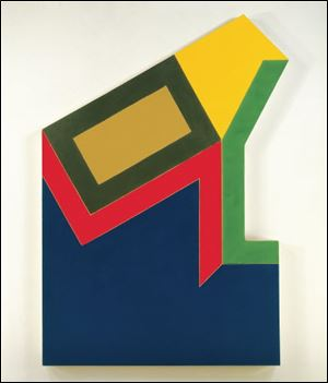 Frank Stella said he thought 'Moutonville IV' would make a great building design.