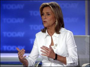 "Meredith Vieira is the co-host of NBC's ""Today"" show."