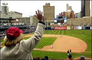 For the first opening day on April 9, 2002, 12,134 fans flocked to Fifth Third Field. The Mud Hens played at Skeldon Stadium in Maumee from 1965-2001 and the largest season attendance there was 325,532 in 1997.