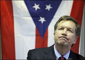 Gov. John Kasich, a Republican, has a voter approval rating of just 30 percent, according to a recent Quinnipiac Poll.
