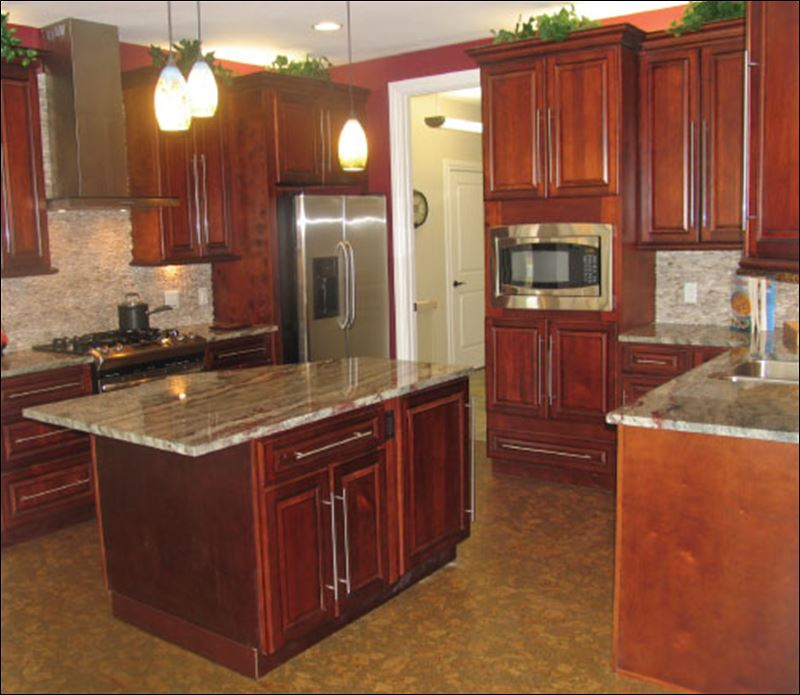 Burgundy Kitchen Cabinets Pictures Picture Ideas With Kitchen Cabinet