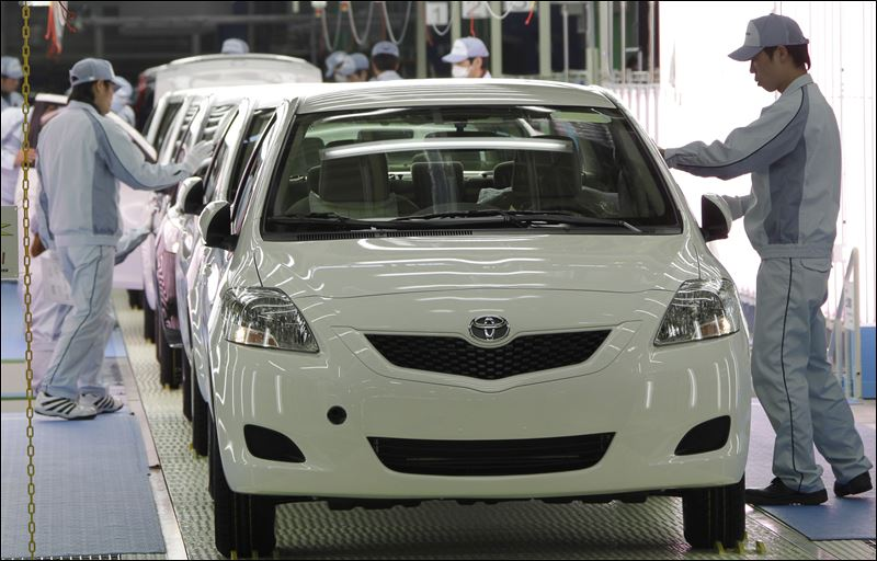 Toyota will resume production at all japan plants from for Toyota motor company usa
