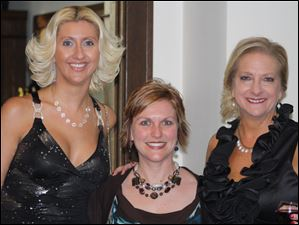 Mary Davenport-Corthell, Erica Sleek, and Wendy Stram.