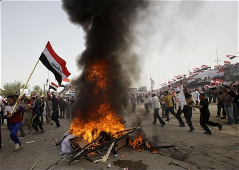 Iraqi cleric pledges to activate militia if U.S. forces ...