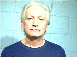 Spencer Blatnik, 61, of Sandusky drove a motorcycle into the back of a minivan on March 16.