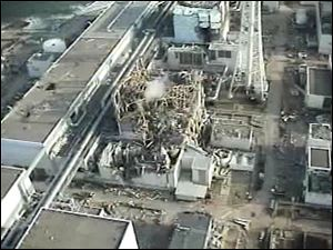 The crisis at the Fukushima Daiichi nuclear power plant stands at 7, the same as the Chernobyl accident in 1986.