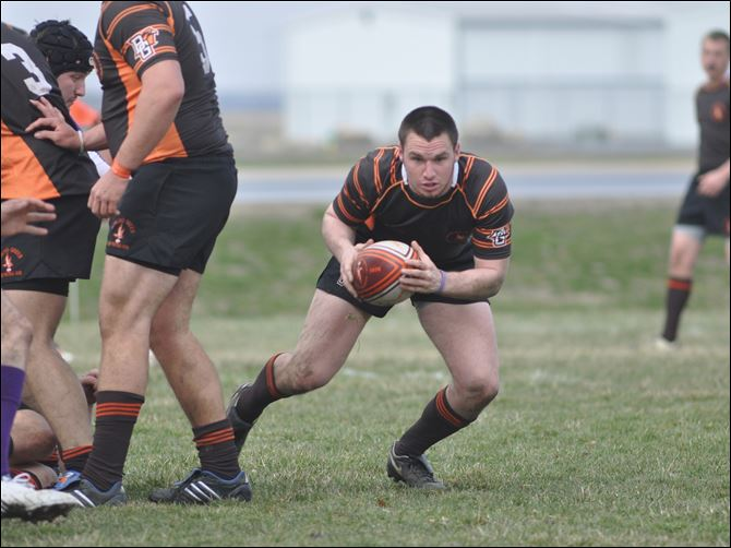 Ben Marshall Perrysburg grad Ben Marshall bolts downfield for the BGSU rugby team.