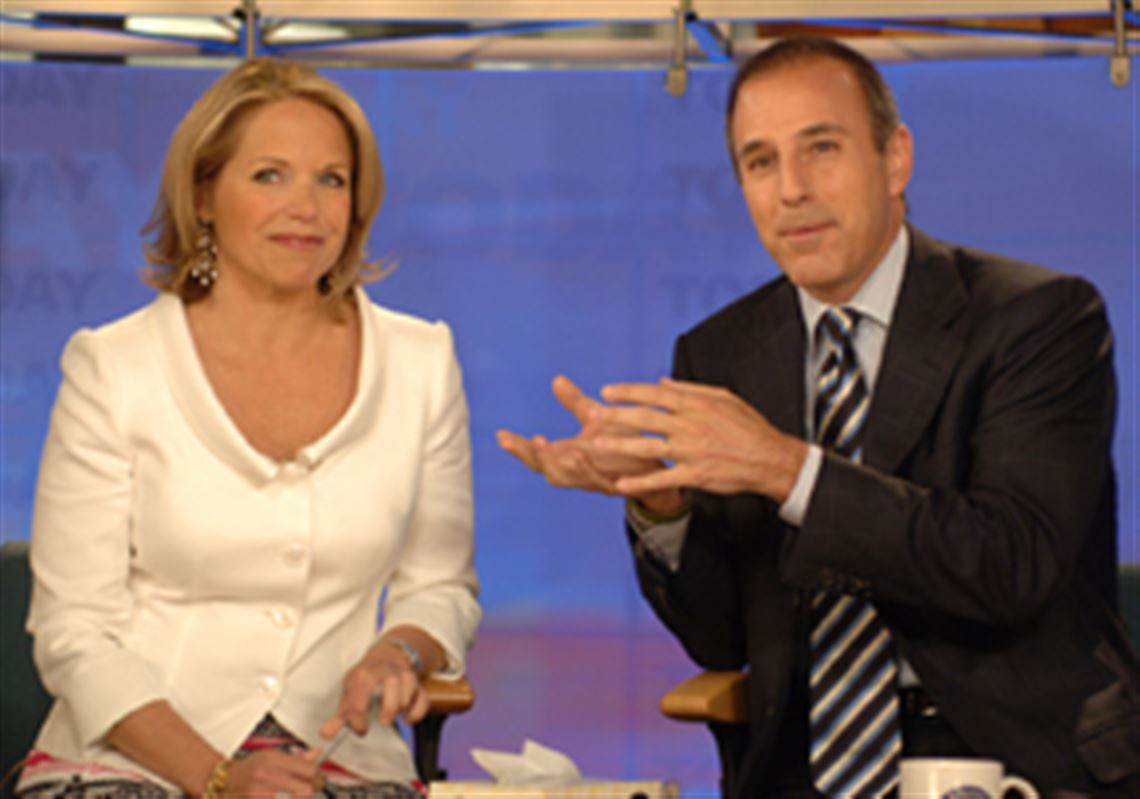 Couric returns to 'Today' for interview with Lauer, says decision about  future coming soon | The Blade