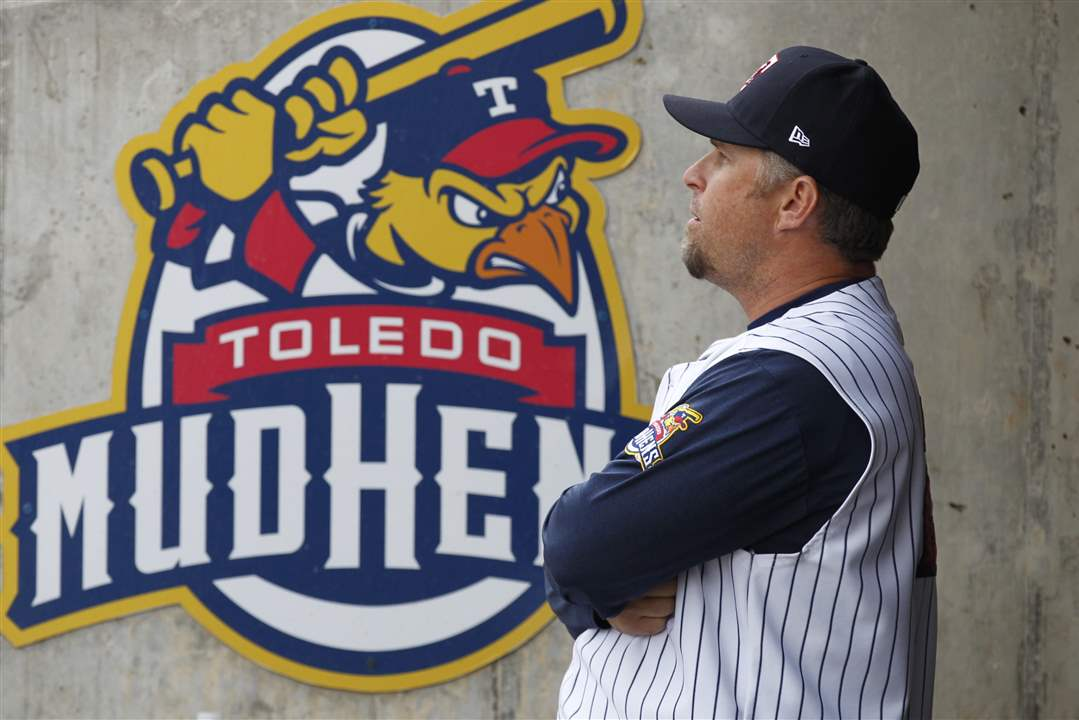 Mud-Hens-Opening-Day-manager-Phil-Nevin
