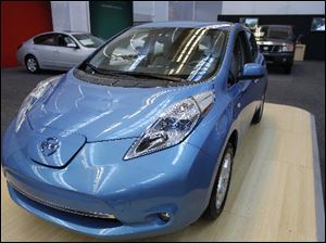 Nissan is repairing 5,000 Leaf electric cars which have a software glitch which can cause the car to fail to start.