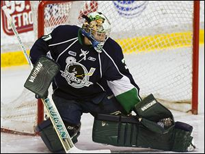 Monroe native Matt Mahalak, a goalie for the OHL's Plymouth Whalers, will participate in the NHL Combine from May 30 to June 5.