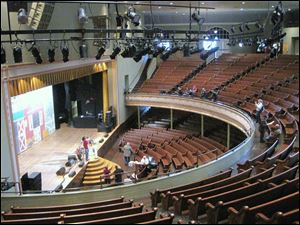 The Grand Ole Opry House is a tourist favorite even when there are no shows going on.