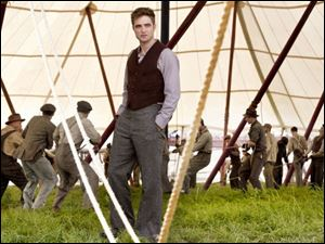 "In 'Water for Elephants,"" Robert Pattinson plays a veterinary student who takes a job with a Depression-era circus."
