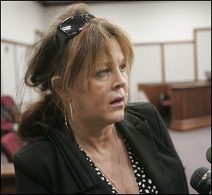 Robin Vess appears in court last April.