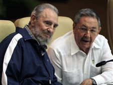 Fidel-Castro-Raul-Castro-party-secretary