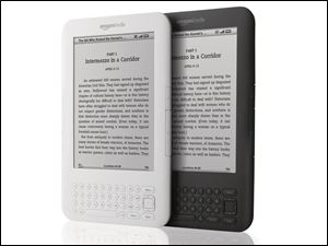 Kindle by Amazon Inc. is one of many e-readers on the market.