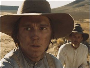 Paul Dano co-stars in the 1845 Oregon Trail period film 'Meek's Cutoff .'