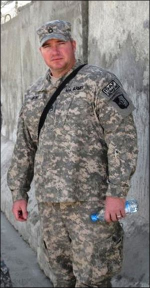 Sgt. 1st Class Charles L. Adkins, a 1993 graduate of Margaretta High School in Castalia, Ohio, was one of five U.S. servicemen killed Saturday in Afghanistan by a suicide bomber.