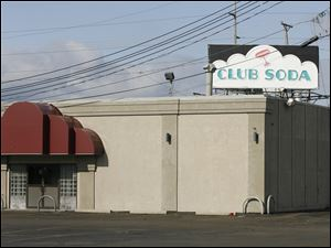 Club Soda is located at 3922 Secor Road in Toledo.