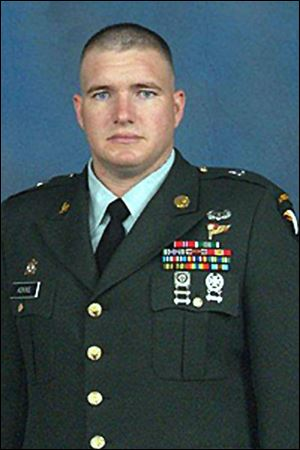 Sgt. 1st Class Charles L. Adkins, a 16-year Army veteran, was a 1993 graduate of Margaretta High School in Castalia, southwest of Sandusky in Erie County. He and his wife, Sarah, a 1995 Margaretta graduate, lived in Clarksville, Tenn., not far from Fort Campbell, Ky., where he had been stationed since 2002.