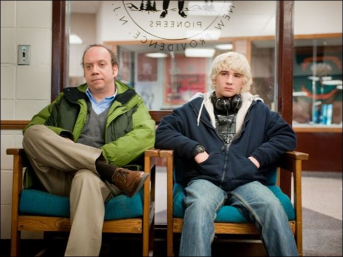 Win Win Mike Flaherty (Paul Giamatti) is a high school wrestling coach who takes Kyle (Alex Shaffer) under his wing.