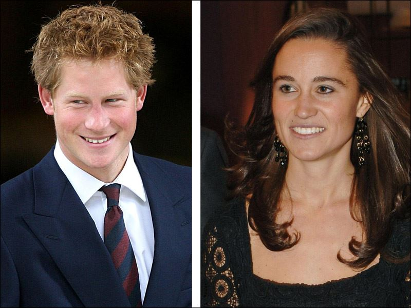 Pippa Middleton And Prince Harry LONDON