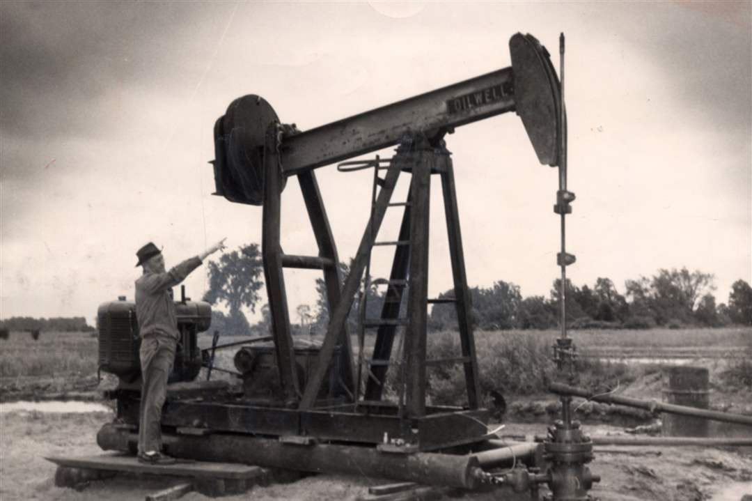 Britton-Michigan-oil-well