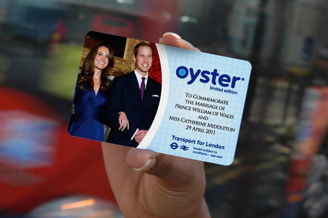 Royal-Wedding-Memorabilia-Oyster-Card