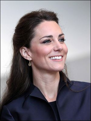 Kate Middleton is set to marry Britain's Prince William on Friday April 29, 2011.
