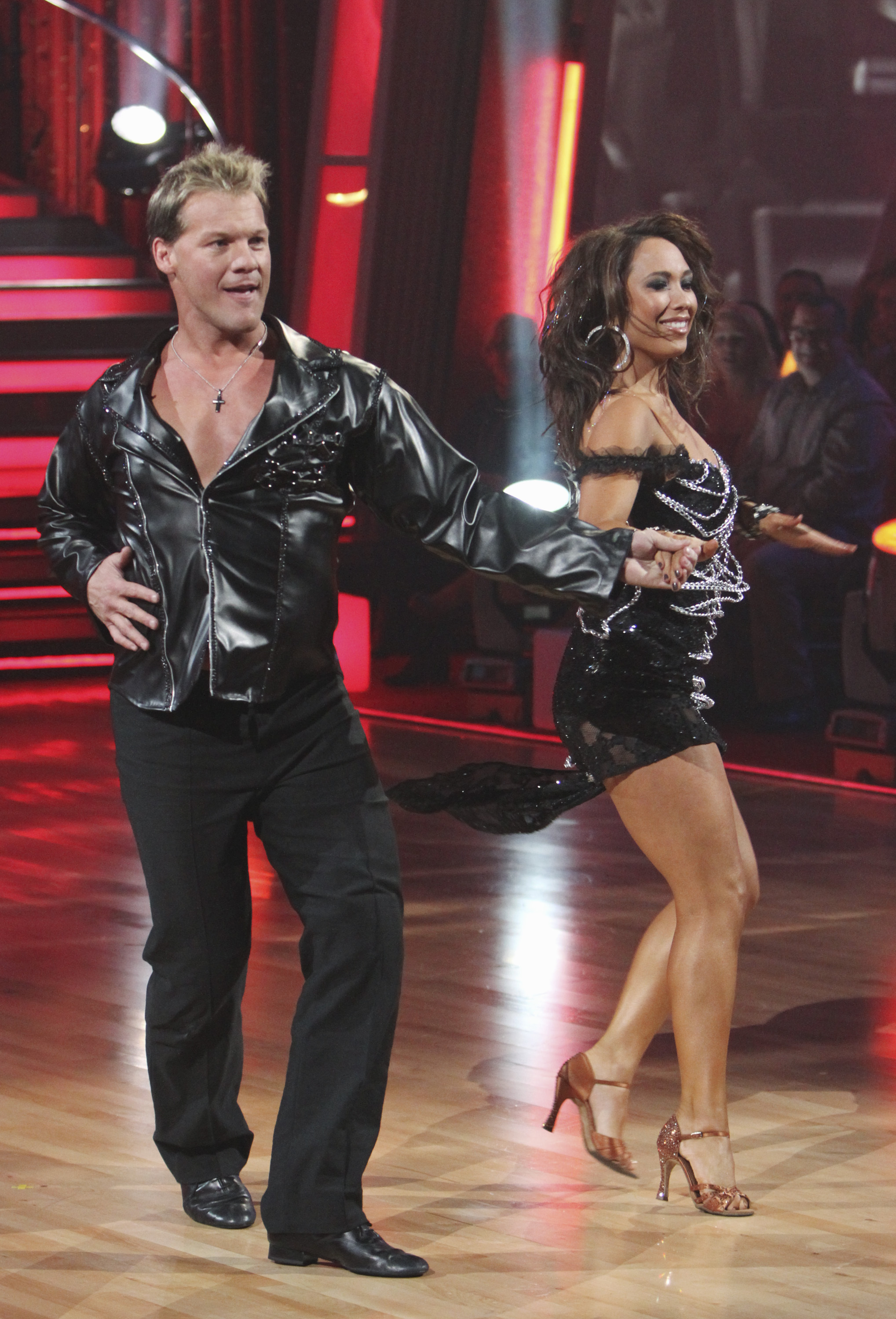 Wrestler Jericho Leaves Dancing With The Stars Ballroom The Blade
