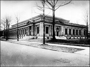 The Old Central Post Office, shown in 1953, was purchased by Toledo Public Schools for $1 from the government in 1966 on the condition that it be used for educational purposes. It was converted to an alternative school in 1970 and closed after voters rejected a levy in 2000.