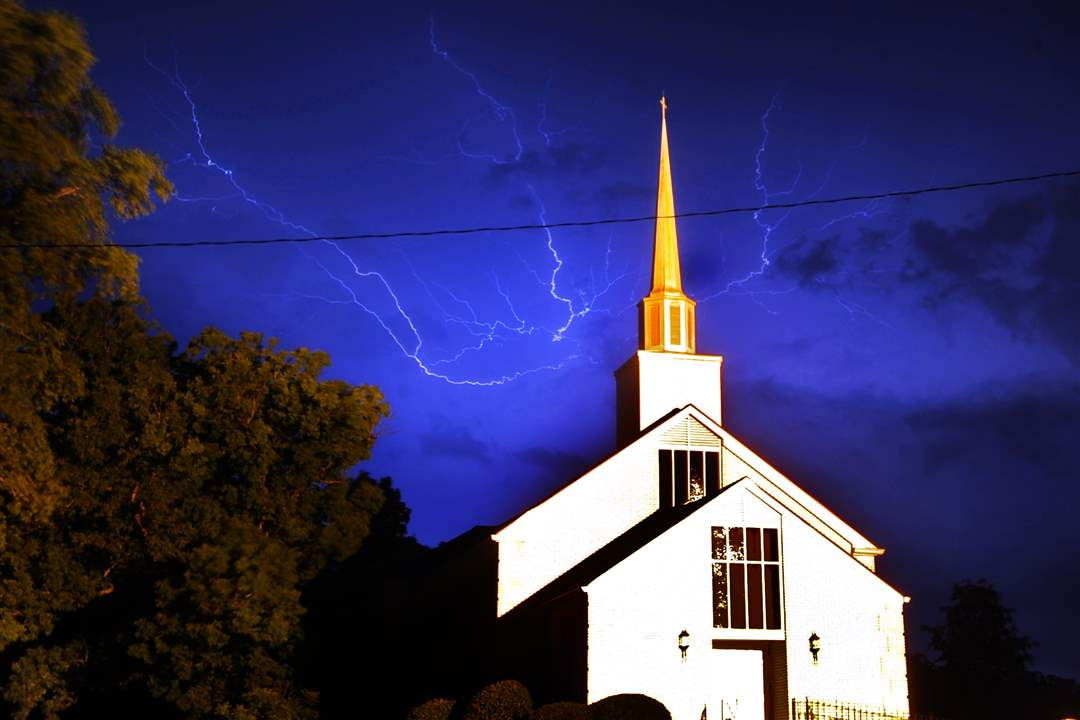 Southern-Storms-lightning-Cornith-Baptist-Church-Athens-Georgia