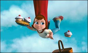 "Actress Hayden Panetierre gives voice to Red one of the heroes of ""Hoodwinked Too."""
