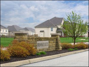 The most popular new neighborhood in Northwest Ohio has got to be the Village of Brookhaven in Perrysburg. Two homes, now under construction here, will be open this weekend. You'll want to move right in!
