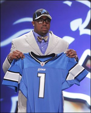 Auburn defensive tackle Nick Fairley was taken with the 13th pick by the Detroit Lions.